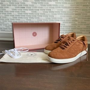 NWT WANT Les Essentiels Suede Lennon Sneakers NIB